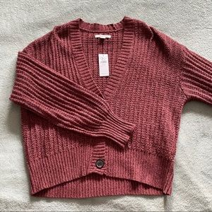 American Eagle Cropped Sweater Size XS